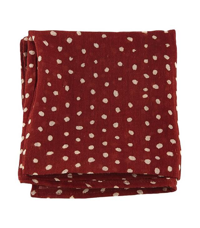 Love Adorned Polka Dot Handkerchief