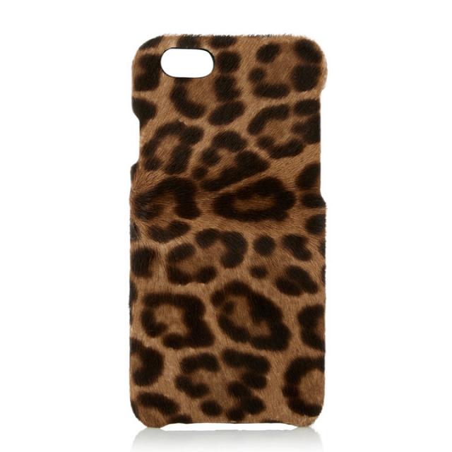 The Case Factory Leopard-Print Calf Hair iPhone 6 Case
