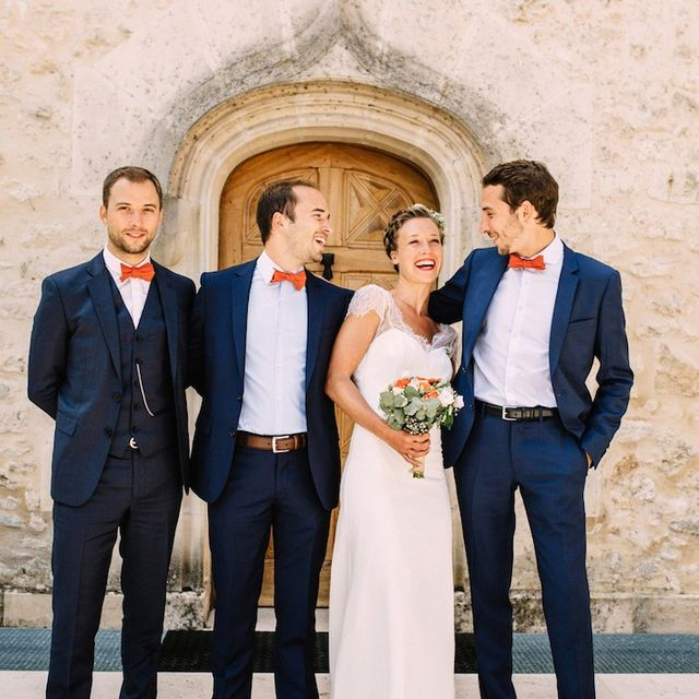 Inside a Picture-Perfect Destination Wedding in France
