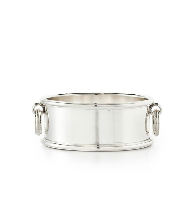 Ralph Lauren Durban Silver-Plated Brass Wine Coaster