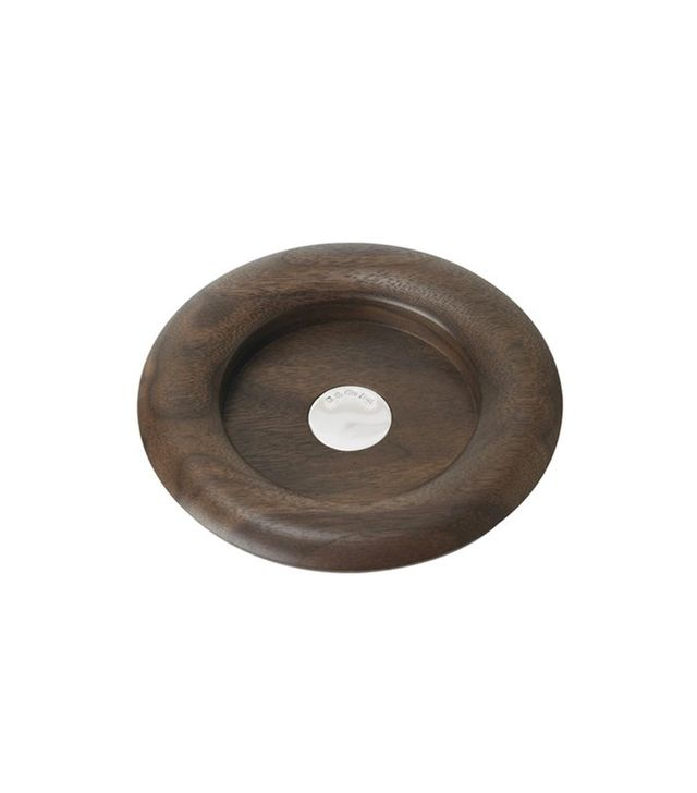 Linley Walnut Wine Coaster