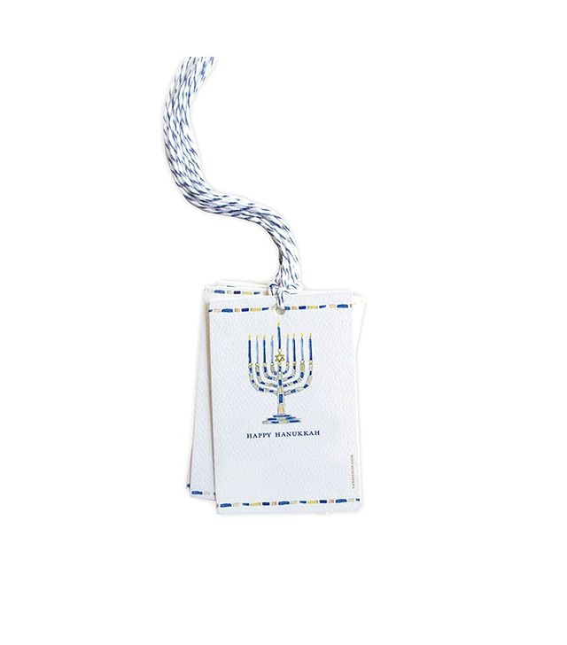 Lana's Shop Set of 8 Menorah Gift Tags