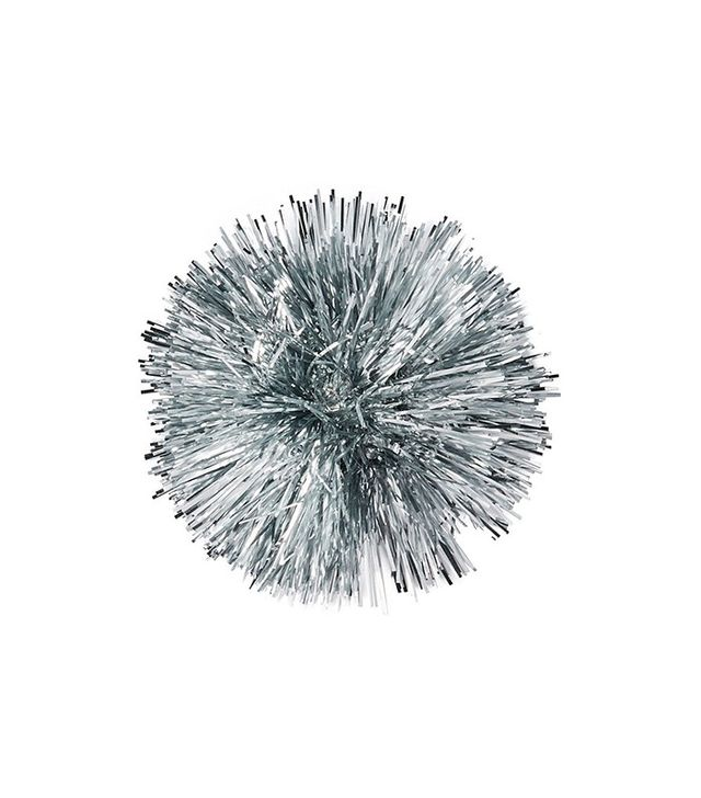 Paper Source Silver Tinsel Bow