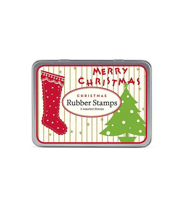 Paper Source Cavallini Vintage Christmas Rubber Stamp Set