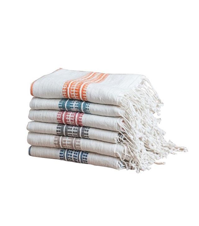Viva Terra Multi-Stripe Hand Towel