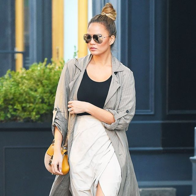 The 411 on Chrissy Teigen's Maternity Style, Straight From Her Stylist