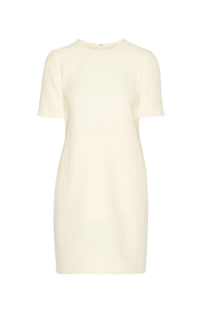 Victoria Victoria Beckham Wool-Crepe Mini Dress