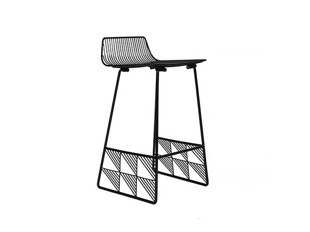 Bend Goods Low Back Counter Stool