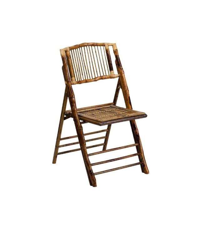 American Champion Set of 4 Bamboo Folding Chairs