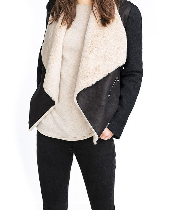 Zara Sheepskin Jacket