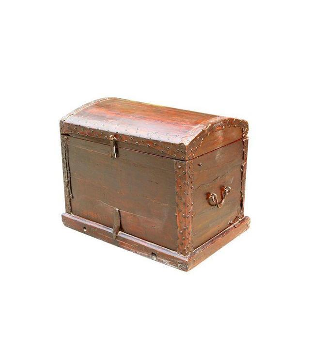 Chairish Chinese Elmwood Storage Trunk