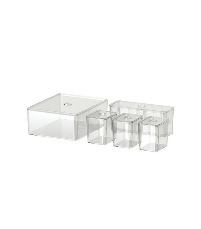 IKEA Godmorgon Set of 5 Box With Lid