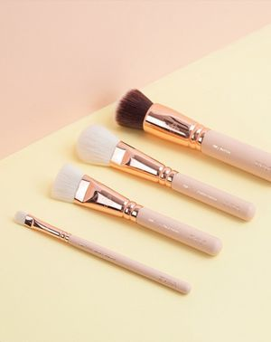 You'll Never Guess What These Stunning Makeup Brushes are Made From