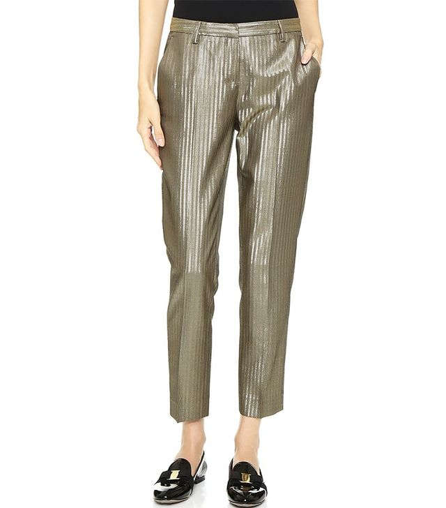 True Royal Side Pocket Crop Trousers