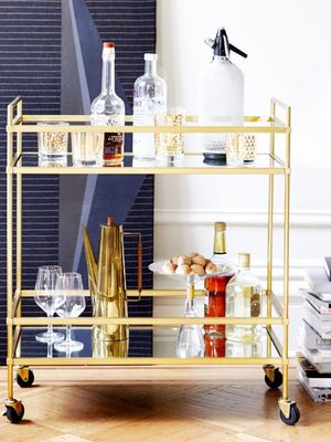 7 Gorgeous Bar Carts Just in Time for Entertaining Season