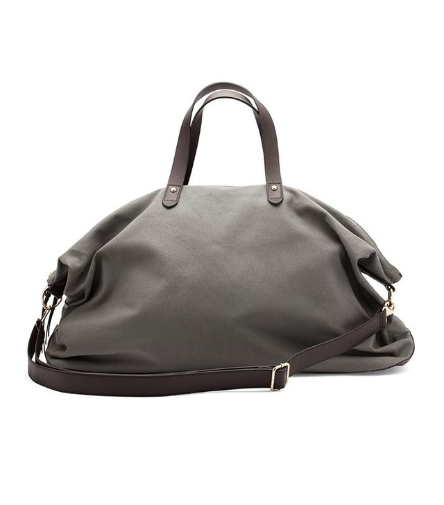 Cuyana Weekender Bag in Charcoal