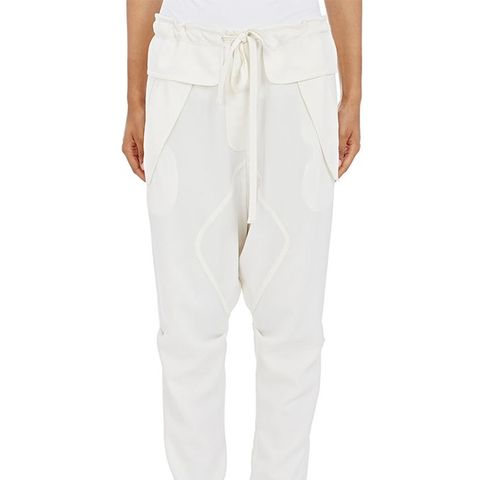 Cady Drop-Rise Trousers