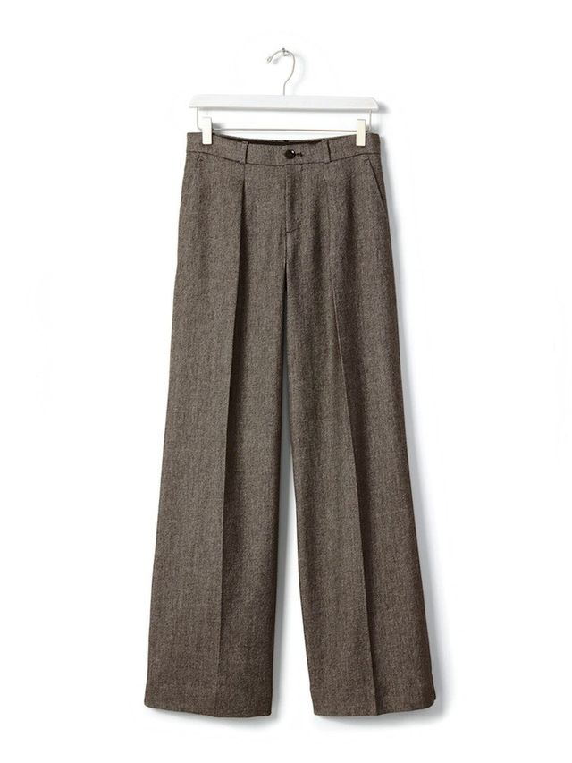 Banana Republic Brown Wide-Leg Pant