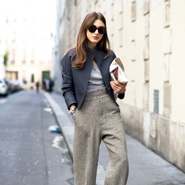 A Work-Perfect Take on Wide-Leg Pants