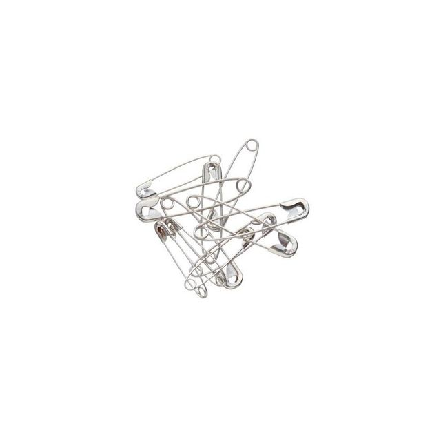 Birch Steel Safety Pins Pack Of 12