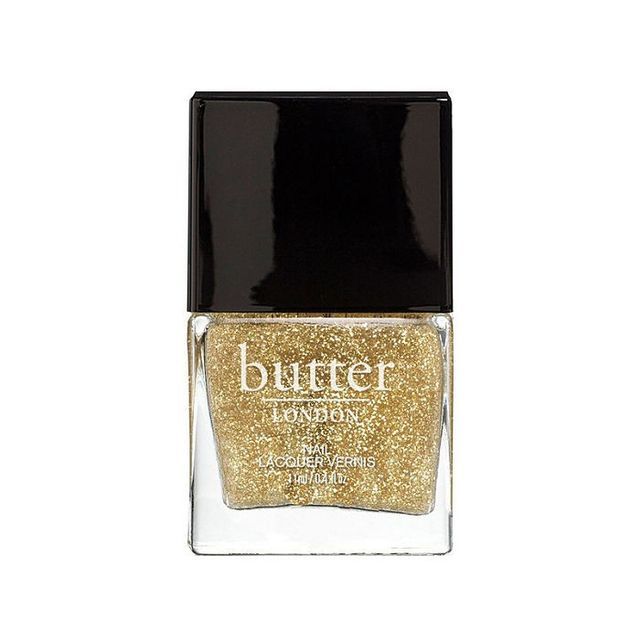 Butter London Nail Lacquer in Gold Glitter