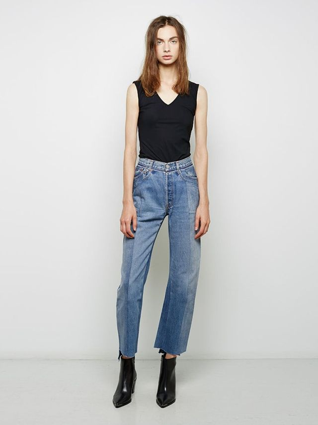 Vetements Artisanal Denim Pants
