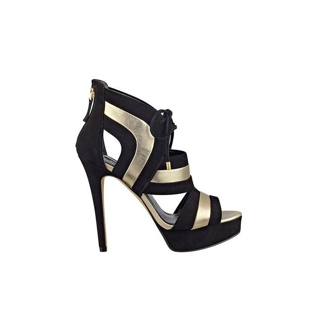 GUESS Karlea Lace-Up Heels