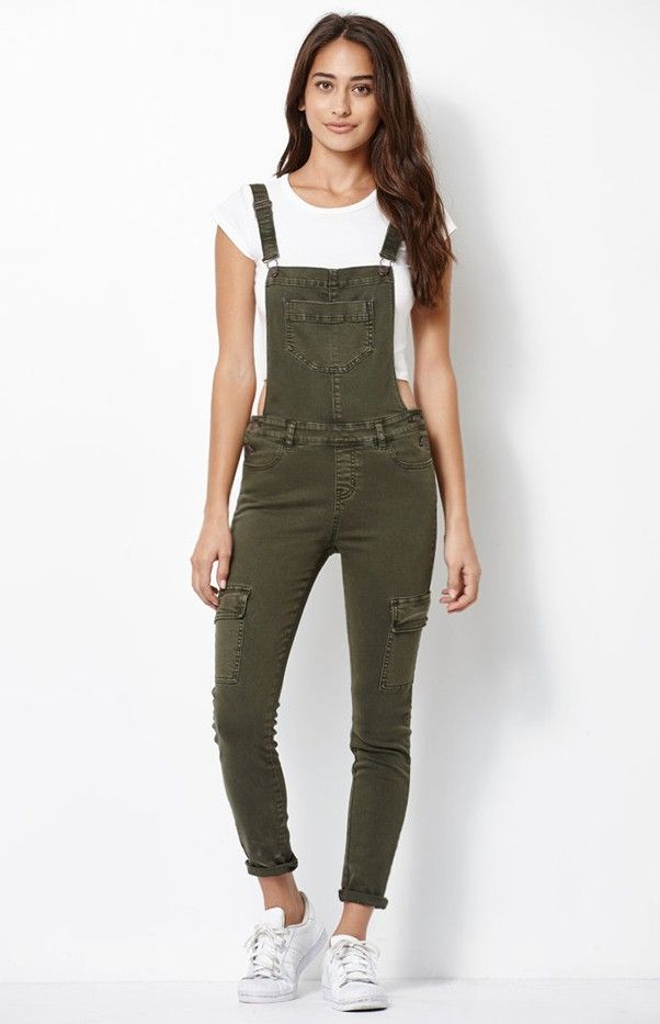Kendall & Kylie for PacSun Utility Overalls