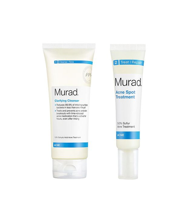Murad Clarifying Cleanser and Acne Spot Treatment