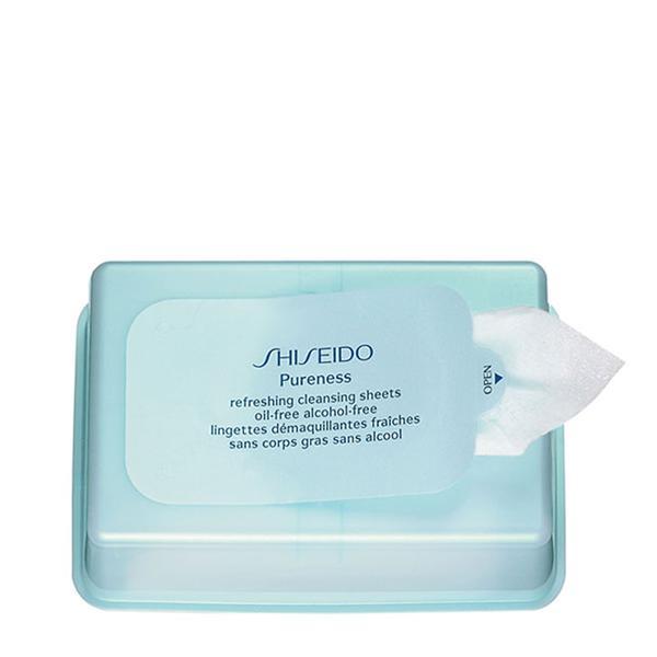 Shiseido Pureness Refreshing Cleansing Sheets