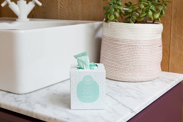 The Honest Company Organic Cotton Tampons Regular
