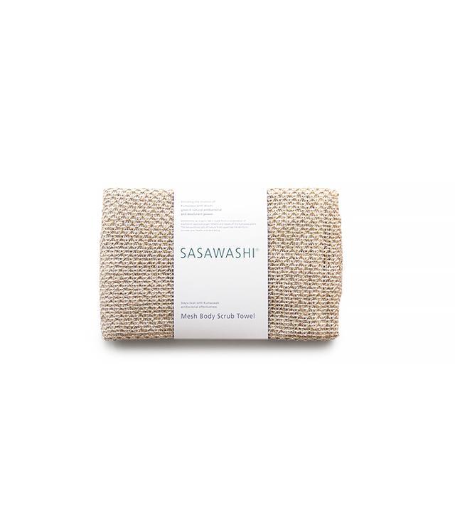 Sasawashi Mesh Body Scrub Towel