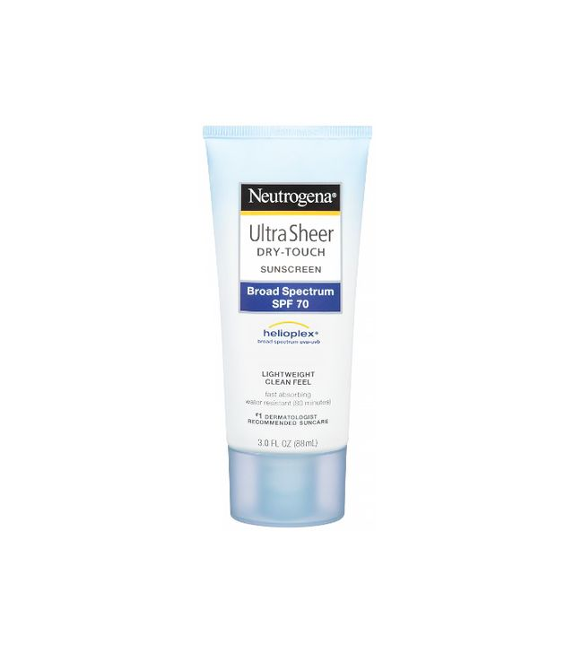 Neutrogena Ultra Sheer Dry Touch Sunscreen Broad Spectrum SPF 70