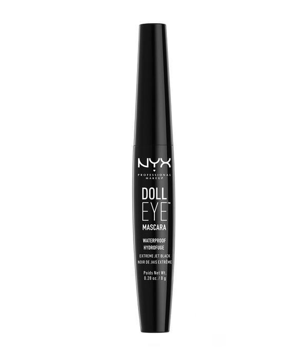 Best waterproof mascara: NYX Professional Makeup Doll Eye Mascara Waterproof