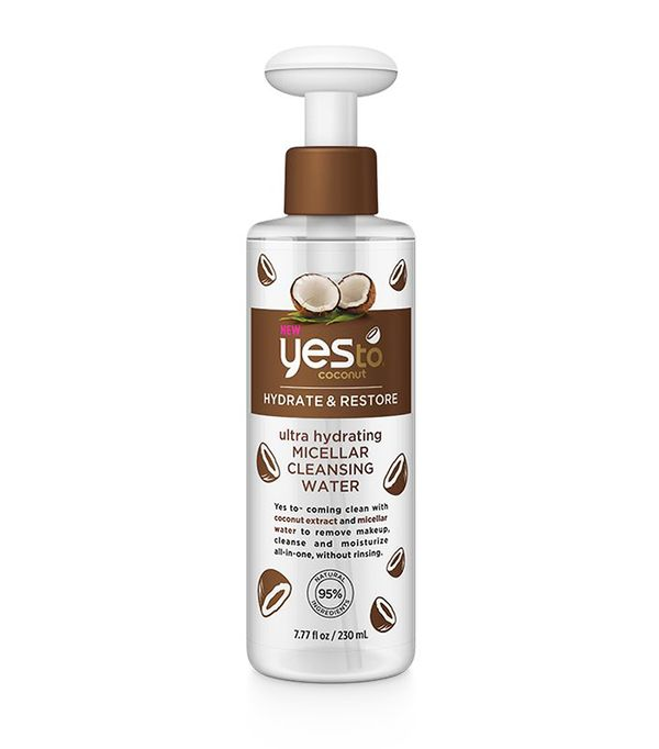 Best micellar water: Yes To Coconuts Hydrating Micellar Water