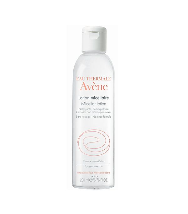 Best micellar water: Avene Micellar Lotion Cleanser and Makeup Remover