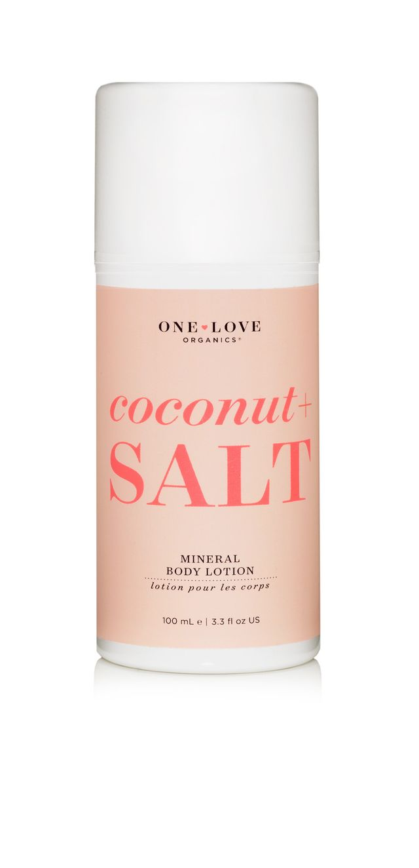 One Love Organics Coconut + Salt Mineral Body Lotion