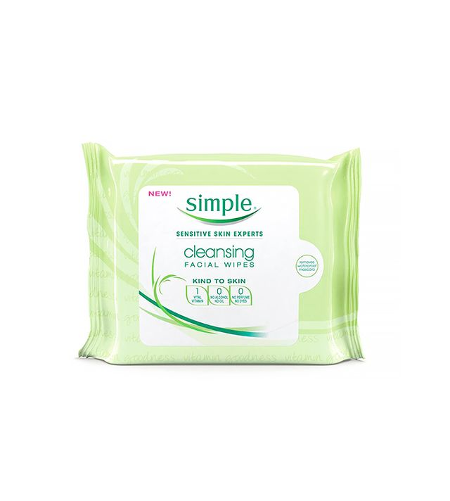 Simple Skincare Eye Make-Up Remover Pads