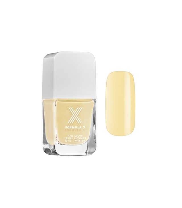 Formula X Nail Color in Butter Yellow