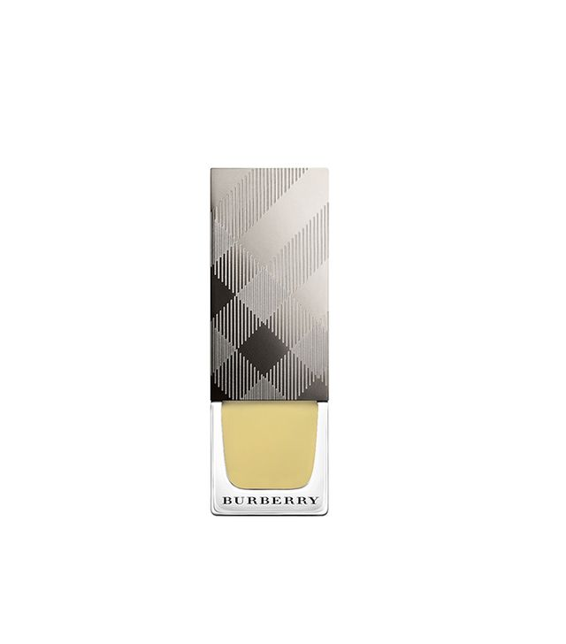 Burberry Nail Polish in Pale Yellow