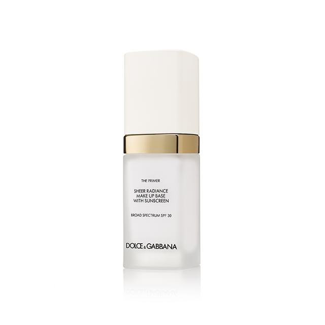 Dolce & Gabbana The Primer Sheer Radiance Makeup Base with SPF 30
