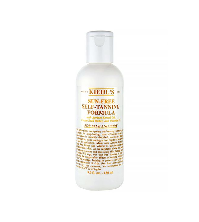 Kiehl's Sun-Free Self-Tanning Formula For Face and Body