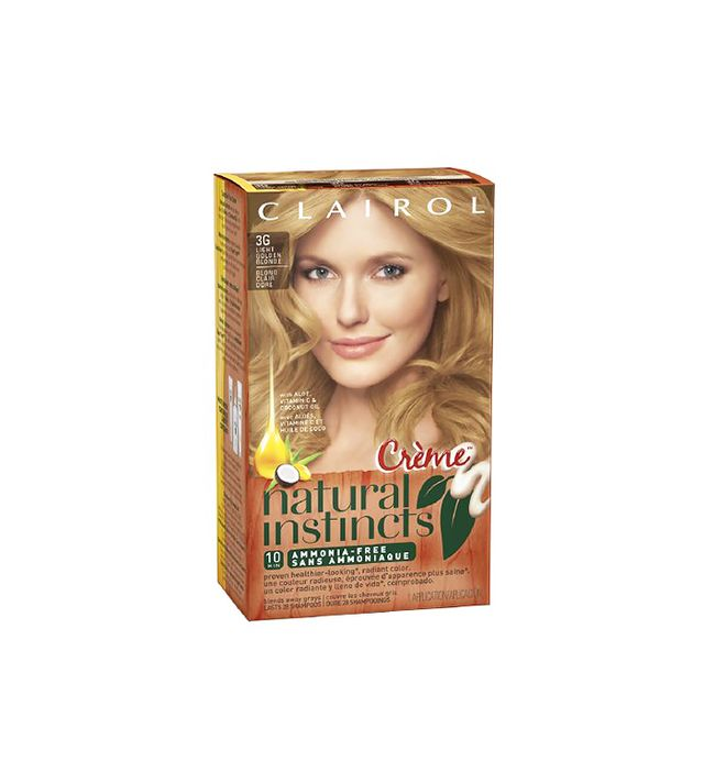 Clairol Natural Instincts Rich Hair Color in Light Golden Blonde