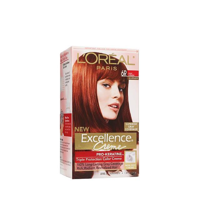 L'Oréal Paris Excellence Creme Haircolor in Light Auburn