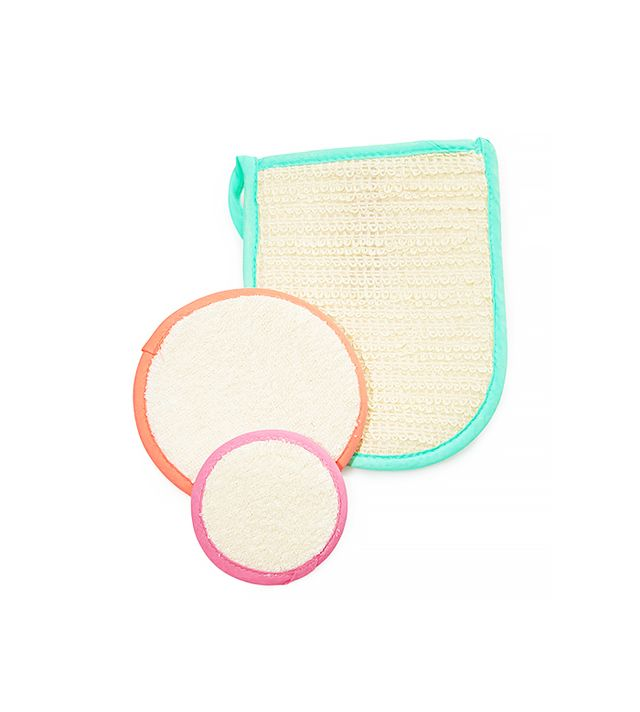 Love & Beauty Exfoliating Face & Body Mitts