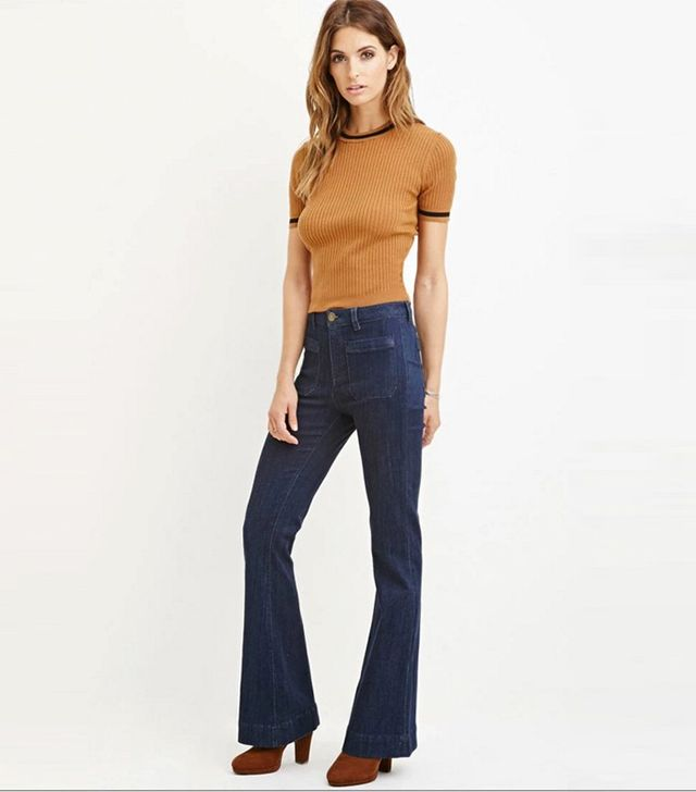 Forever 21 Contemporary Classic Flare Jeans