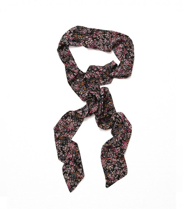 Zara Mini Floral Thin Scarf
