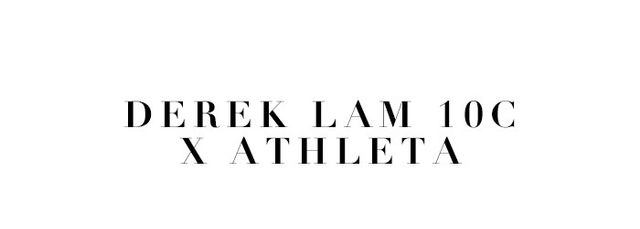 Derek Lam and Athletacollaborated on a line of workout apparel and the outcome will make you want to get to the gym, stat. Reliable performance meets high fashion and the results are stunning.