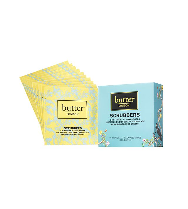 Butter London Scrubbers 2-in-1 Nail Prep & Remover Pads