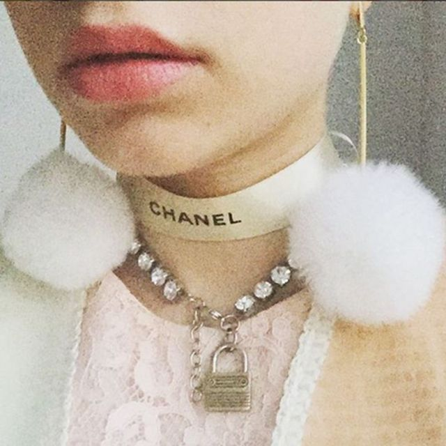 Shop the Earrings Tavi Wears With Her Chanel Necklace
